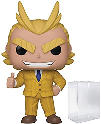 Funko Pop Anime: My Hero Academia - All Might (Teacher) Vinyl Figure (Includes Compatible Pop Box Protector Case) by Funko