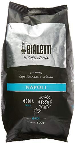 Café Torrado Moído Para Moka Napoli Bialetti 500g