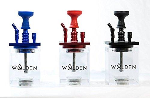 Cachimba - Shisha Walden AL-06 - Colores: Negro