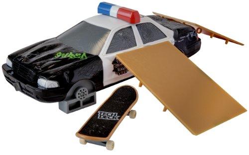 Tech Deck - Tony Hawk Shred FX Polizeiauto und Rampen [UK Import]