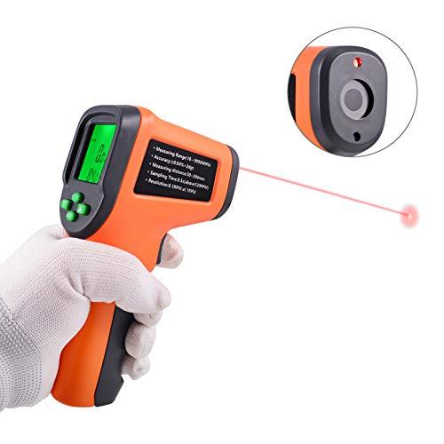 Ehdis Digital LCD láser Foto tacómetro sin Contacto RPM Metro Velocidad del...