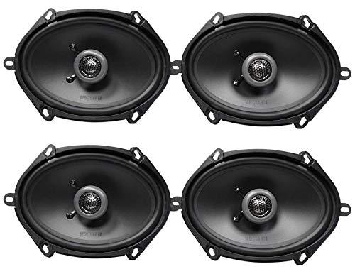 """(4) MB QUART FKB168 6x8"""" 200 Watt Car Stereo Coaxial Speakers"""