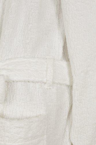 今治産やすらぎバスローブ/S、Mサイズ(日本製ユニセックス)上質タオル吸水性抜群(M,ブラウン)