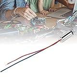 5PCS Motor de vibración sin núcleo duradero Motor en miniatura Motor de vibración de teléfono móvil Micro vibrante Miniatura magnética sin núcleo para teléfono móvil Instrumento de belleza