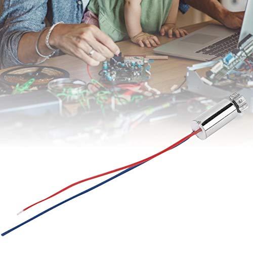 Cables 3V 5PCS Micro motores eléctricos Micro Motor vibratorio sin núcleo para...