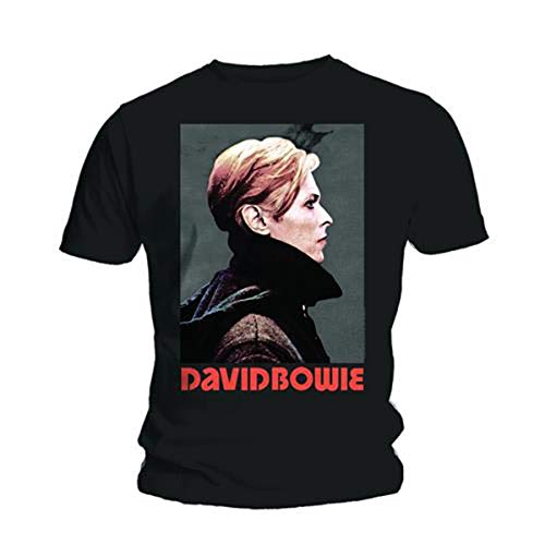 Men's David Bowie Low Portrait T-shirt, S to XL