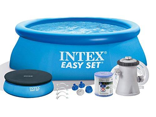 4in1Deckung Pool mit Garten 244x 76–Intex 28112