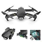 Yxs 4k Drone avec caméra vidéo en Direct, Connexion Wi-FI FPV RC Quadcopter avec 4k Caméra Pliable Drone pour Les débutants - Altitude Attente Headless Mode Une clé/atterrissage