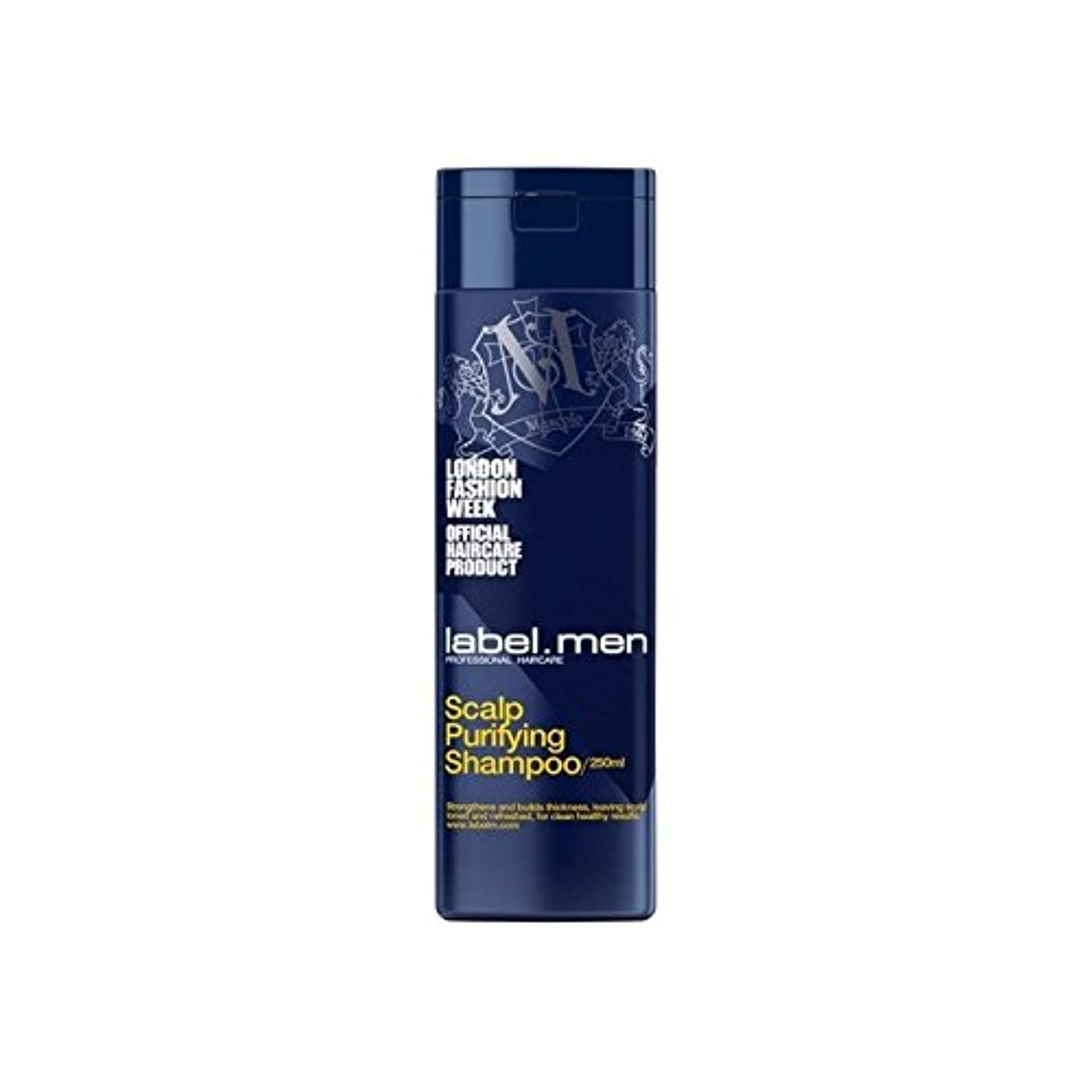 ズボンローマ人下品Label.Men Scalp Purifying Shampoo (250ml) - .頭皮浄化シャンプー(250ミリリットル) [並行輸入品]