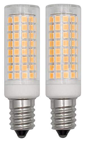 Lampadina LED E14 SES, 6W Dimmerabile AC 220V 240V Luce Bianca Calda, 3000K Tappo a Vite, Equivalente a Lampadina Alogena Da 60 Watt Illuminazione Domestica, 2 Pezzi per Confezione