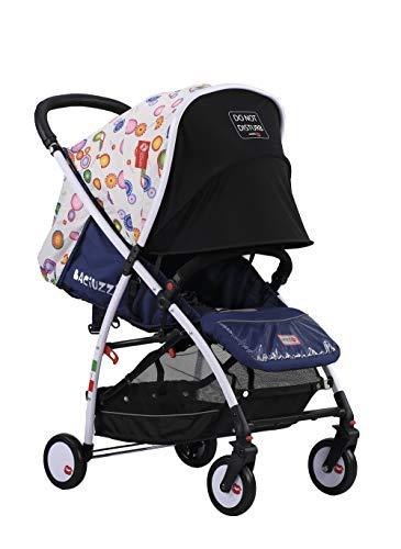Baciuzzi Italy, leichter, Essential, Kinderbuggy, faltbarer, kompakter Kinderwagen mit einfachem und praktischem Einhandreißverschluss, atmungsaktiv, voll optional, BX Ellas