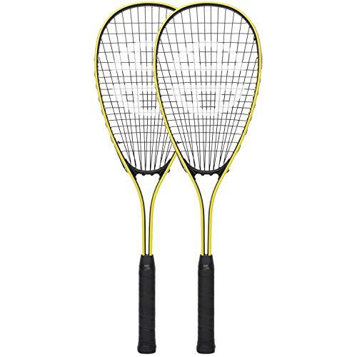 Unsquarable Hero Ti - Raquetas de Squash Unisex (68,6 cm), Color Amarillo
