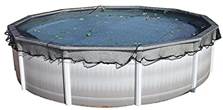 HARRIS Deluxe Leaf Net for 30' Above Ground Round Pool