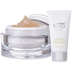 GENTLY EXFOLIATES - The Vivo Per Lei Facial Peeling Gel exfoliates gently without hurting or irritating skin. The Dead Sea Facial scrub works well even on dry, oily or sensitive skin. REMOVES DIRT AND GRIME - This exfoliating face scrub rids skin of ...