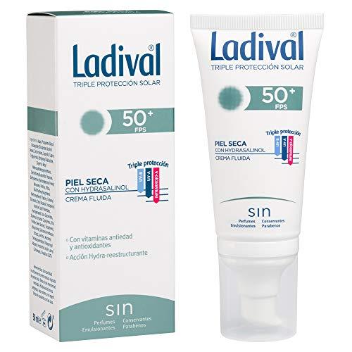 Ladival Protector Solar Facial Piel Seca - FPS 50+, 50 ml