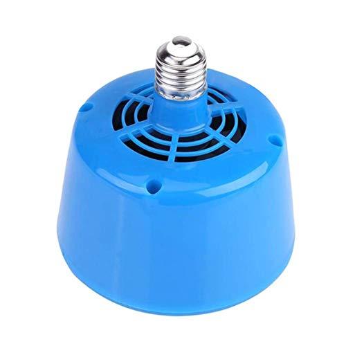 Lanbowo 220V Cultivo Calefacción Lámpara Termostato Ventilador Calefactor para Pollo Cerdos Huevo Incubators