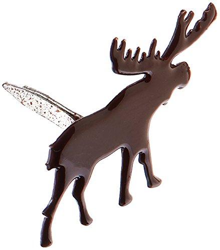 Eyelet Outlet Oeillet Prise Forme Moose Attaches parisiennes, Lot de 12