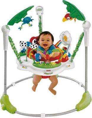 Idéal Fisher-Price Rainforest Jumperoo Transat pour bébé–Gamme Cleva® Bundle édition