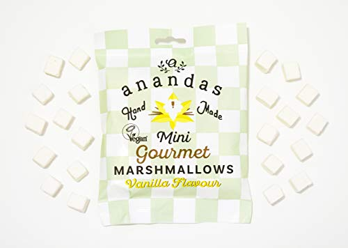 Anandas Vegane & Vegetarische Vanille-Mini-Marshmallows 80g