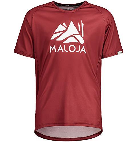 Maloja Sanetschm Multi 1/2 Herren-T-Shirt M Roter Mönch