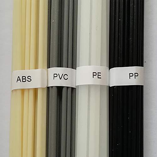20 piezas PP/PE/PVC/ABS varilla de soldadura de plástico