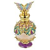 FOMIYES Rociador de Perfume de Viaje de 15Ml Dubai Botella de Perfume de Estilo Árabe Perfume de Mariposa Rociador de Niebla Fina Rociador de Loción de Esencia Rellenable para Mujer