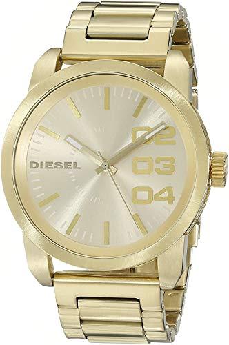 Diesel Men's DZ1466 Double Down Gold Watch