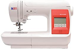 W6 VALUE WORK N 5000 computer sewing machine (sewing, patching, quilting (323 programs)) white