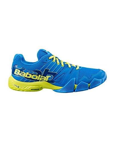 Babolat Chaussures Padel Homme Pulsa Bleu/Jaune AH 2019