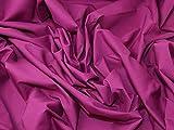 Minerva Crafts Kleiderstoff, Polycotton, einfarbig,