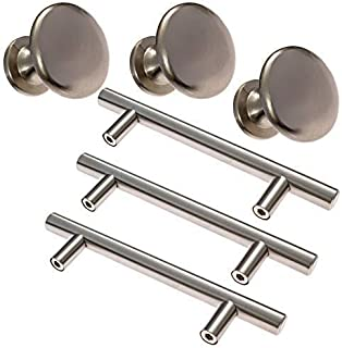 Kitchen Cabinet Handles Cabinet Pulls and Knobs - JTSC Products 35 Pack Includes 25 Pack Cabinets Pulls 3-3/4