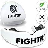 FIGHTR Premium Protector bucal | máx. oxígeno y protección + adaptación Simple|...
