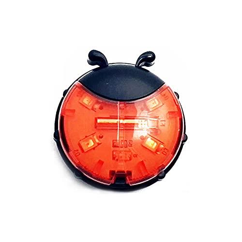 Carrfan Intelligent LED Bicycle Wheel Light Bike Front Tail Hub Spoke Lamp Night Safety Warning Light Kids Balance Bike Cycling Light