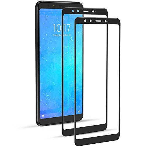 iGlobalmarket [2 Unidades Protector de Pantalla 3D Xiaomi Mi 6X / Mi A2, Cristal Templado, sin Burbujas, Alta Definicion, 9H Dureza, Resistente a Arañazos