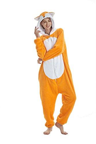 heekpek Pijamas Unisexo Adulto Cosplay Traje Disfraz Animales de Vestuario Ropa de Dormir Halloween y Navidad