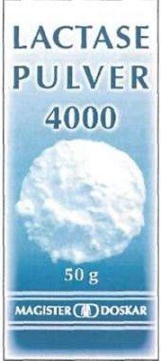 Lactase 4000 IE Enzyme Pulver 50g (50 G)