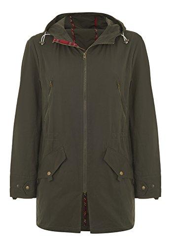 Merc of London Herren Buckley, Hooded Spring Parka Jacke, Grün (Dark Khaki), XX-Large (Herstellergröße: XXL)