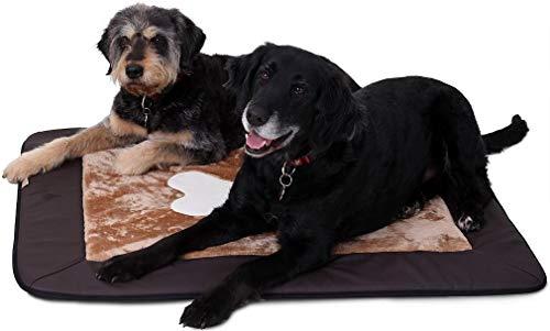 Knuffelwuff 12678 Universal Hundematte Fim Comfort für Haus Garten Auto viel mehr, L-XL, 100 x 72 cm