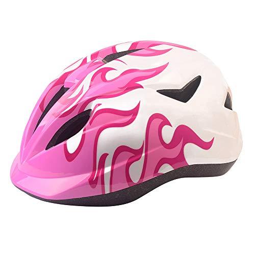 Athyior Kinderfietshelm - 50-54 cm Veiligheidscyclushelm Verstelbare hoofdband voor fietsskateboard Scooterrijden Leeftijd 4-11 jaar Jongens Meisjes
