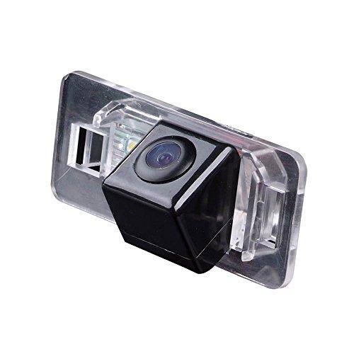 CMOS Caméra de Recul Voiture en Couleur Kit Caméra vue arrière de voiture Imperméable avec large Vision Nocturne pour Porsche Cayenne VW Touareg Golf V Skoda Fabia Passat B5 Tiguan Polo Santana