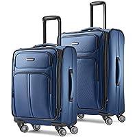 2-Piece Samsonite Leverage LTE Softside Expandable Luggage With Spinner Wheels (Poseidon Blue)
