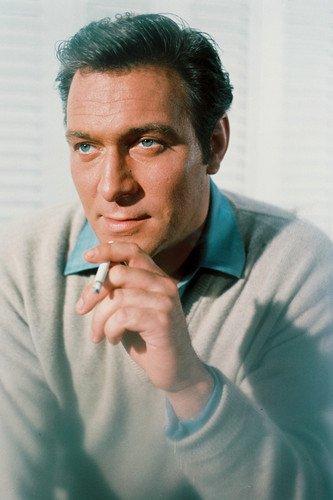 Christopher Plummer Handsome 1960's Color 24x36 Poster