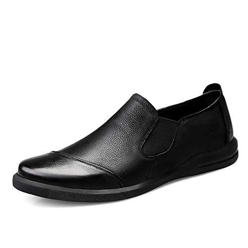 Hong YI-SHOES sportschoenen voor heren, nonchalante mocassin, zachte zool, eenkleurig, voor winkels