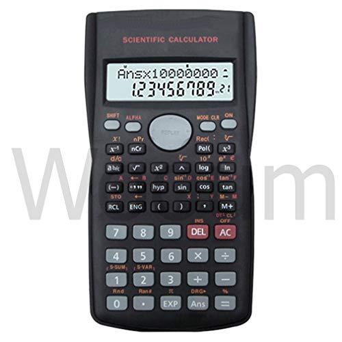 Wooum Multifunctional Scientific 2 Line LCD Display Calculator Portable Handheld Function Calculator...