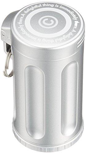 Dreams(ドリームズ) 携帯灰皿 シガーネスト ハニカム 7本収納 シルバー MDL45214直径3.5×高さ7.0cm