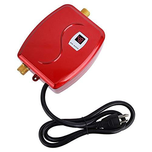瞬間湯沸し器 電気タンクレス給湯器 インスタント温水器 ミニ 3000W 110V 温水器 家庭 インスタント 家庭 インスタント 瞬間湯沸かし器 電気水暖房シャワー(1#)