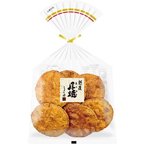 越後製菓 越後厚焼しょうゆ 6枚入×12袋 醤油煎餅 国産米100%