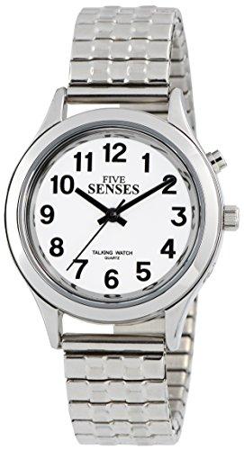 Reloj parlante de 2ª generación, alarma plateada con fecha de día, 1156