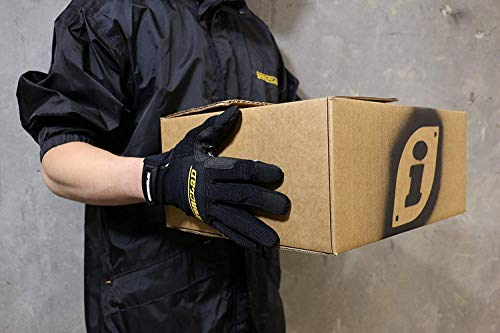 Ironclad Box Handler Work Gloves BHG, Extreme Grip, Performance Fit, Durable, Machine Washable, (1 Pair), Large - BHG-04-L