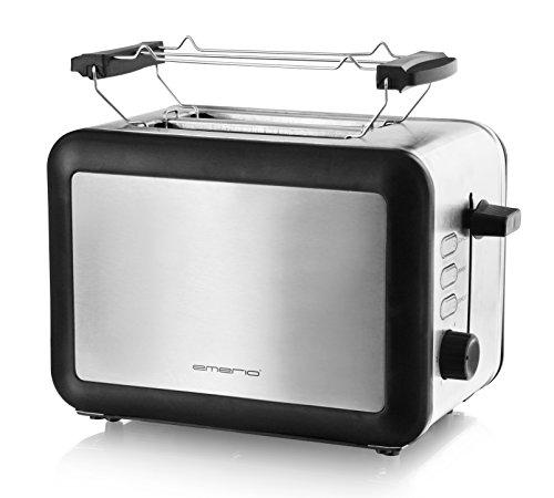 Emerio Edelstahl-Toaster TO-112826.1